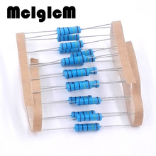 Free shipping 50pcs 220 ohm 2W Metal film resistor
