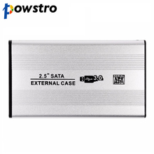 Powstro Aluminum USB 3.0 SATA External Enclosure 2.5 Inch Hard Driver HDD Case Storage Box for PC Computer Laptop Notebook
