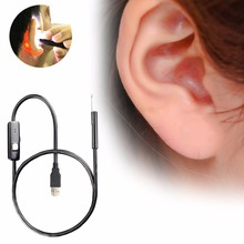 Pro Multifunctional USB Ear Cleaning Endoscope Visual Ear Spoon Earpick Ear Cleaner Health Care for Windows PC for android Phone(China)