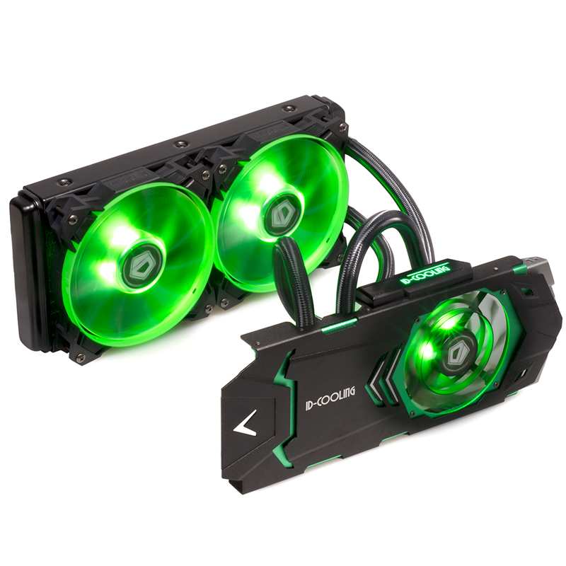 ID-Cooling ICEKIMO 240VGA-G integrated graphics water-cooled radiator graphics cooler