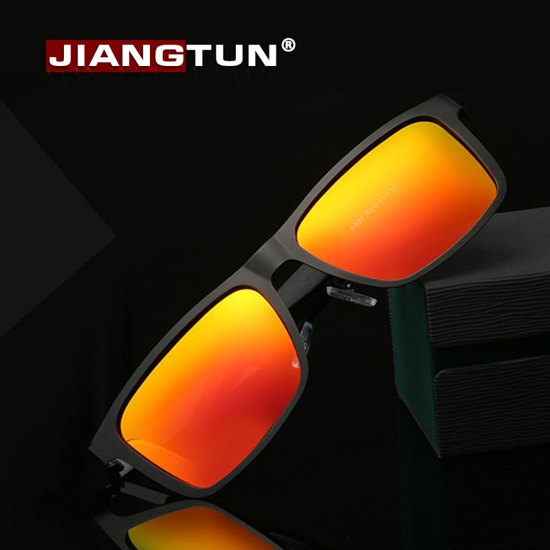 JIANGTUN Top Fashion Square Men New Coating Mirror Polarized Sunglasses Luxury Brand Driver Male Pesca Uv400 Outdoor Glasses<br><br>Aliexpress