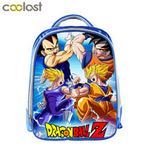 Anime Dragon Ball Children School Backpack Boys Book Bag Kids Kindergarten Backpack Cartoon School Bags Best Gift Shoulder Bag(China)
