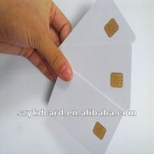 1000pcs/Lot 1K PVC IC card Contact Blank Smart Card SLE5528 sle4428 blank chip cards