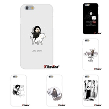 For Xiaomi Redmi 4 3 3S Pro Mi3 Mi4 Mi4C Mi5S Mi Max Note 2 3 4 Funny Cute jon snow game of throne Silicon Soft Phone Case
