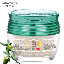 MENXILAN Pearl White Nourish Whitening Cream Face Skin Care Moisturing Lift Firming Remover Acne Black Head Ageless Face Cream(China)