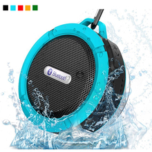 Outdoor Portable Bluetooth Speaker Rugged Waterproof Speakers Wireless Mini Hand Speaker Travel Sport Sound Box with Suction Cup(China)