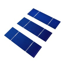 ECO-WORTHY 108pcs 78x26mm Small Solar Cells Kit W Tab Bus Wire Flux Pen J-box for DIY Panel
