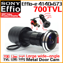 HD SONY 700TVL Cat Eye Door Hole Security Color Camera 170 degrees 1.8mm peephole cctv Video Security Surveillance Door shooting