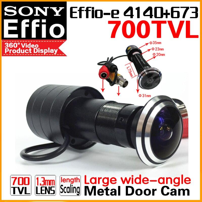 HD SONY 700TVL Cat Eye Door Hole Security Color Camera 170 degrees 1.8mm peephole cctv Video Security Surveillance Door shooting<br>