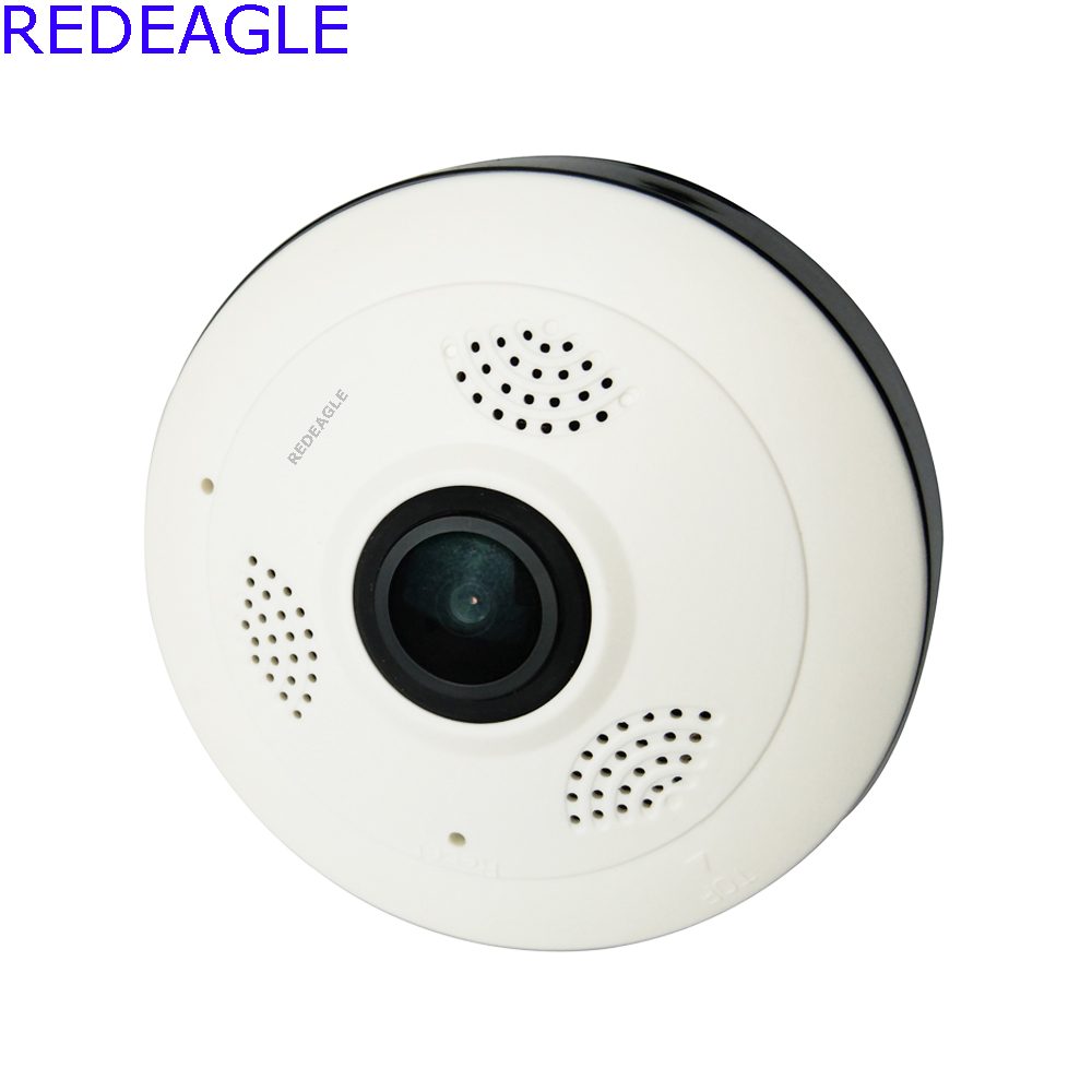 REDEAGLE Panoramic 1080P 3D VR IP Wi-fi Camera Dome Fisheye Baby Monitor Panorama HD 2MP Wireless wifi CCTV Security Cameas<br>