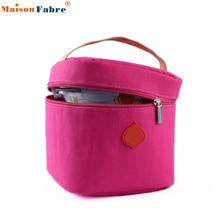 New Fashion Casual Lunch Bag Bolsa Thermal Bag Small Portable Insulated Cooler Waterproof Picnic Lunch Carry Bag Lunch Box 2017