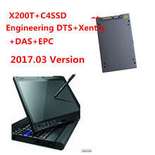 2017.07v New SD Connect Compact 4 SSD Vediamo DTS MB STAR C4 Software Installed Well In X200t Laptop work For Mercedes DHL Free