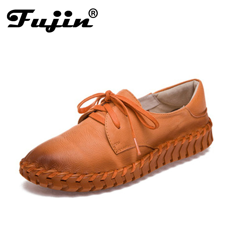 New women Genuine Leather  Moccasins Mother Loafers Soft Leisure Flats Female Driving Casual Footwear  Size 35-40 5 Colors<br>