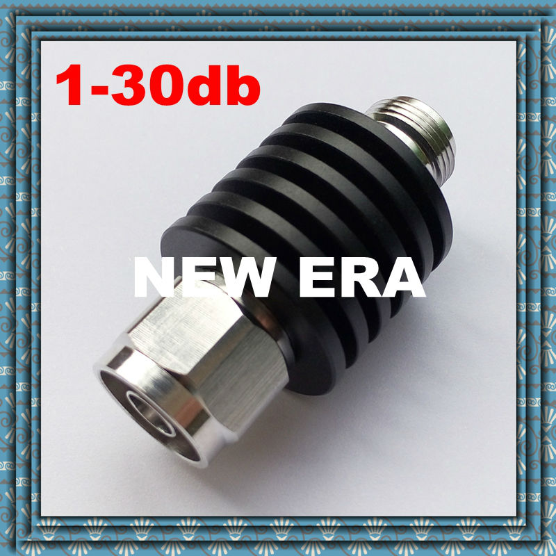 Free Shipping 10WN -type RF Attenuator  DC-3GHz  3,6,10,15,20,30dB<br><br>Aliexpress