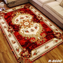 LIU European style living room carpet Living Room Big Area Decoration Carpet Bedroom Soft House Rugs Door Mat Coffee Table tapis