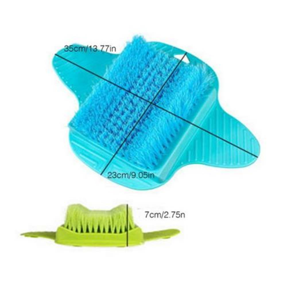 2018 Foot Massage Brush Bath Scrub Brushes Exfoliating Foot Scrub ...