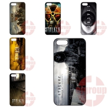 For Apple iPhone 4 4S 5 5C SE 6 6S 7 7S Plus 4.7 5.5 iPod Touch 4 5 6 Cases Covers S.T.A.L.K.E.R