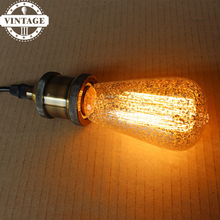 Buy LightInBox 2pcs ST64 40W E27 220V Lampada Edison Bulb Retro Ampoules Decoratives Incandescent Lamp Lamp Bombillas Vintage Light for $10.52 in AliExpress store