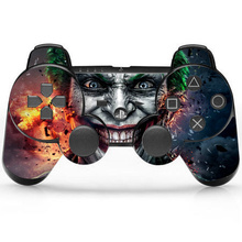 Joker Vinyl Skin Sticker Protector for Microsoft PS3 Controller Skins Stickers For PS3