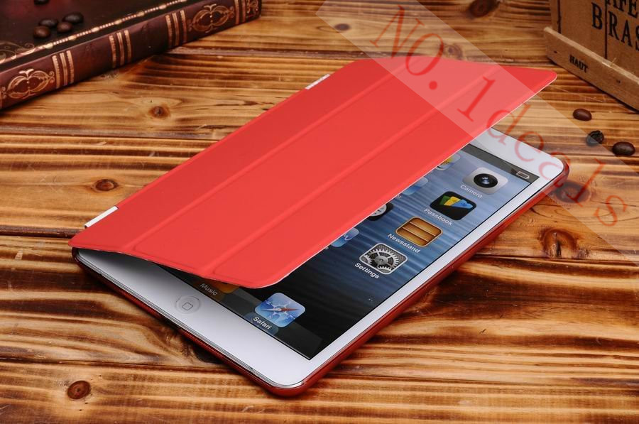 3 Fold Stand Smart For Apple IPad Mini 1 With Retina Display Auto-Sleep And Wake UP Functions For Apple iPad Mini 2 Case Cover<br><br>Aliexpress