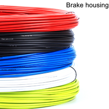 3M Bicycle Brake Cable outer 5mm MTB Mountain Road Bike Bicycle Brake Cable Housing Hose Colorful Bicycle Brake Parts(China)