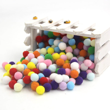 Buy 12 Colors 50PCS/Lot 15MM DIY Multi Option Pompoms Soft Pom Poms Balls Home Garden Wedding Decoration / Sewing Accessories for $1.65 in AliExpress store