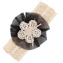 Newly Design 1 Piece Baby Kiddo Headbands Mesh Flower Hair Bands Fashion Child Hair Accessories Aug3 Drop Shipping(China)