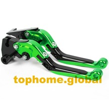 Motorcycle Accessories CNC Folding&Extending Brake Clutch Levers For Kawasaki ZX6R / ZX636R / ZX6RR 2000-2004 2001 2002 2003(China)