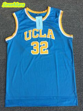 SexeMara 2017 Bill Walton Jerseys #32 UCLA College Basketball Jersey Blue Vintage Stitched Mens Cheap Basketball Throwback Shirt(China)