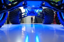 Chassis light lamp LED set + remote control for Rc car G3 HSP losi 5ive t  baja monster truck
