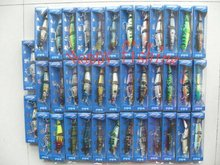 Sample Set (38 pcs) for MS Slammer type Hard Lure(MS120)  Enjoy Retail Convenience at Wholesale Price