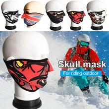 Skeleton Mask Cover face shield cycling mask Multicolor breathing Protective Gear Headwear Guard(China)
