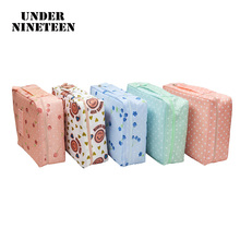 Under Nineteen 2017 Necessaire Makeup Box Big Travel Organizer Bags Women Toiletry kit Cosmetic Bag Custom Logo Wholesale Gifts(China)