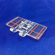 Border Guide Sewing Machine Presser Foot - Fits Low Shank Snap-On Singer, Brother, Babylock, Euro-Pro, Janome, Kenmore AA7146