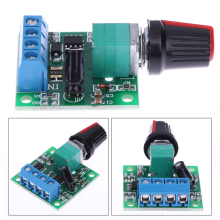 DC Max Output Current 2A Adjustable Voltage 1.8V 3V 5V 6V 12V 2A Low Voltage Motor Speed Controller