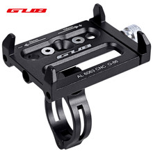 GUB G-86 Adjustable Universal Bike Phone Stand Aluminum Alloy Bicycle Handlebar Mount Holder Bike Phone Stand Cycling Accessory(China)
