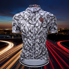New Listing Tleyi Men Bicycle Bike Cycling Jerseys Jackets Cycling top Short Sleeve Breathable Zipper Jersey Ropa Ciclismo(China)