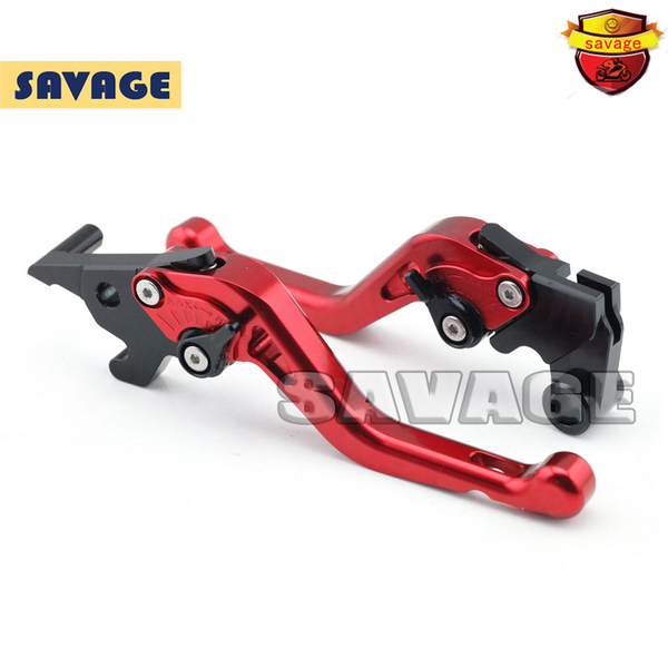 For YAMAHA YZF-R25 14-15, YZF-R3 2015 Motorcycle CNC Billet Aluminum Short Brake Clutch Levers Red<br><br>Aliexpress