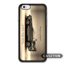 Cars High Definition Back Delorean Case For iPhone 7 6 6s Plus 5 5s SE 5c 4 4s and For iPod 5