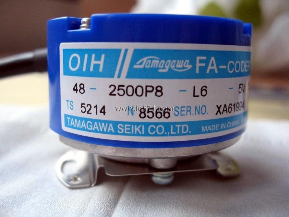 free shipping Brand New Tamagawa  Rotary Encoder TS5214N8566 (original model #: TS5214N566) OIH48-2500P8-L6-5V<br><br>Aliexpress
