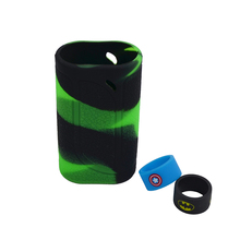 Eleaf iKonn 220 silicone case skin or silicone cover sticker sleeve wrap + 2pcs Silicone vape band ring for Vapor ikonn 220W mod(China)