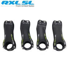 RXL SL RX60 Carbon Fiber Bicycle Stem  Angle 6/17 Degree Road/MTB Stand Stem Bicycle Parts 70/80/90/100/110/120/130 Green