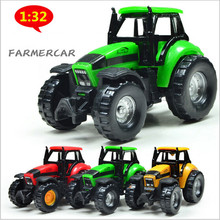 1:32 high simulation Alloy Farmer car ,mini car model,Farm cars,Cheap Wholesale toys,free shipping(China)