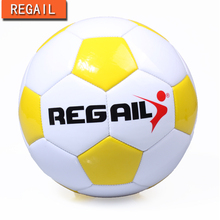 REGAIL Thickened Soft PU Football Professional Children Soccer Ball Size 4 Soccer Ball for KidsTrainning