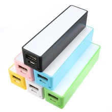 Wholesale Mini Mobile Power Bank USB Backup External 18650 Battery Charger Case Cover DIY For Xiaomi Smartphone Powerbank(China)