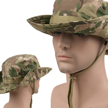 Multicam Tactical Bucket Boonie Hats Airsoft Sniper Camouflage Nepalese Cap Military Army American Military Accessories Men