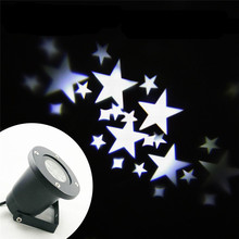 Romantic Rotating Star Sky Projector Night Light for Kids Bedroom IP65 for Outdoor Lawn Landscape Patio House Walls Holiday