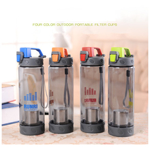 550ml/700ml Plastic Sports Water Bottle Space Portable Young Bike Outdoor Climbing Camp Powder Shaker Bottle High Quality HJ16