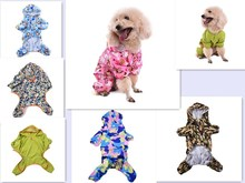 Dog Camouflage Raincoat Pet Jumpsuit Dog Clothes Puppy Waterproof Coat for small and Medium Animals Supplies(China)