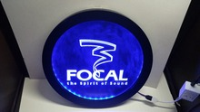 Focal Audio Speaker Theater RGB led Multi Color the wireless control beer bar pub club neon light sign Special gift